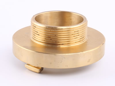 The picture shows a brass storz male thread.